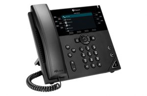 polycom vvx 450 angled right