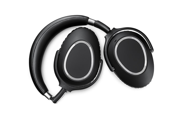 sennheiser MB660 wireless headset folded
