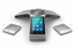 yealink cp960 conference phone with speakers front